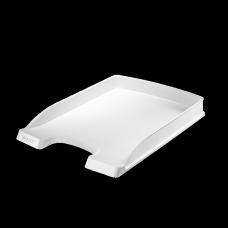 LEITZ Brevkorg Plus Slim vit , 52370001, 10-pack