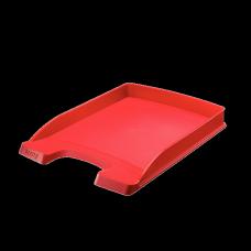 LEITZ Brevkorg Plus Slim röd , 52370025, 10-pack