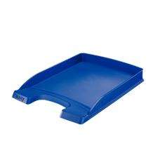LEITZ Brevkorg Plus Slim blå , 52370035, 10-pack