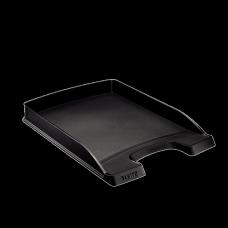 LEITZ Brevkorg Plus Slim svart , 52370095, 10-pack
