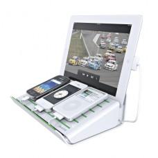 LEITZ Multiladdare för mobil enhet vit , 62640001
