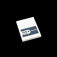 ESSELTE Limblock A6 60/100 linjerat oh TFS 200-pack, 62921