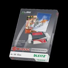 LEITZ Lamineringsficka A4 UDT 175mic. 100/ask , 74830000
