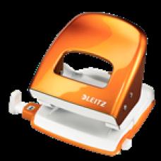 LEITZ Hålslag 5008 2hål/30 ark Orange Metall (EU Standard), 50081044