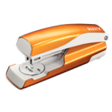 LEITZ Häftapparat 5502 30 ark Orange Metallic, 55021044